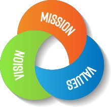 Our mission vision and values